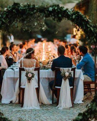 bàn tiệc cô dâu chú rể