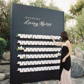 Ý tưởng tạo sơ đồ bàn tiệc – ngày cưới ấn tượng