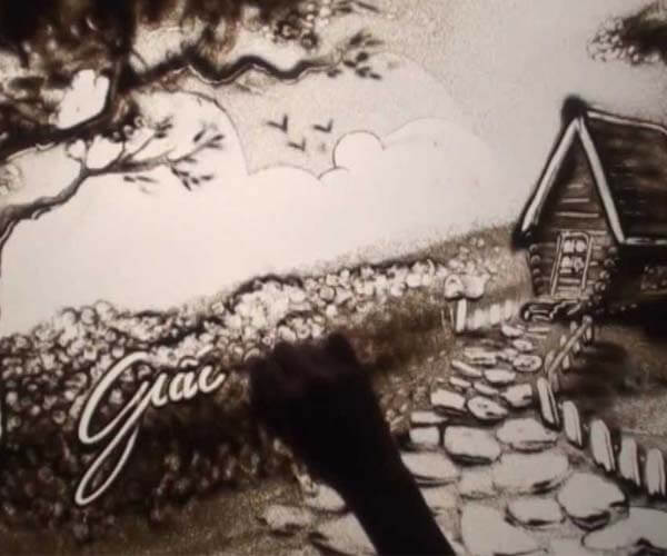 Cho thuê họa sĩ vẽ tranh cát