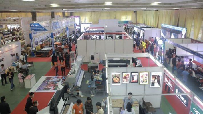 Tổ chức hội nghị triển lãm