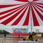 Cho thuê ô dù, dù tròn sự kiện uy tín tại Hà Nội