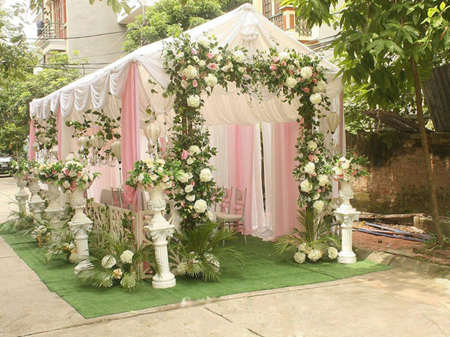 cho thuê nhà bạt cưới
