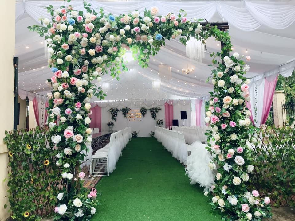 cho thuê phông bạt đám cưới tại Hà Nội