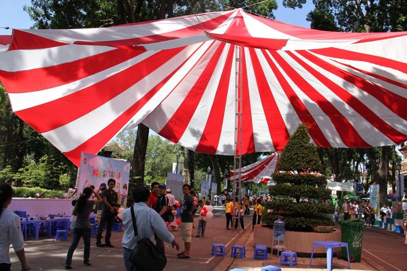 cho thuê ô dù tại Hà Nội