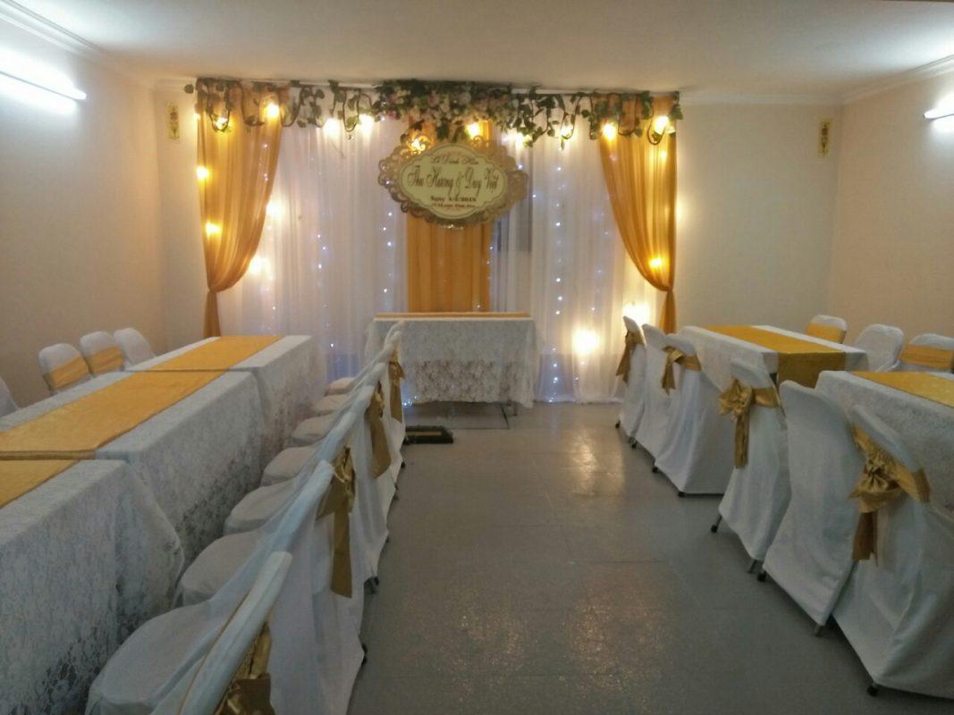 bàn ghế đám cưới đẹp