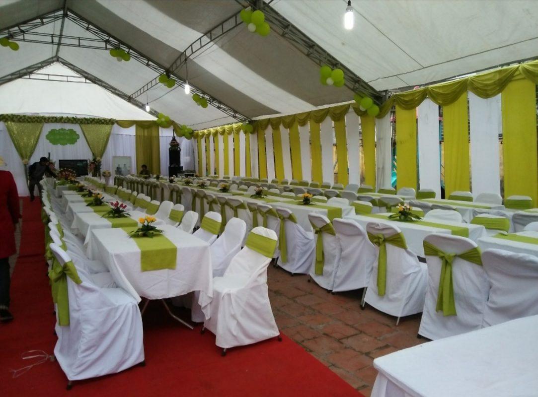 thuê nhà bạt tổ chức sự kiện