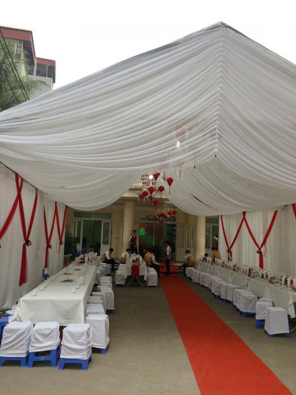 thuê nhà bạt đám cưới