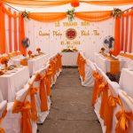 #1 Bàn ghế đám cưới giá rẻ cho thuê