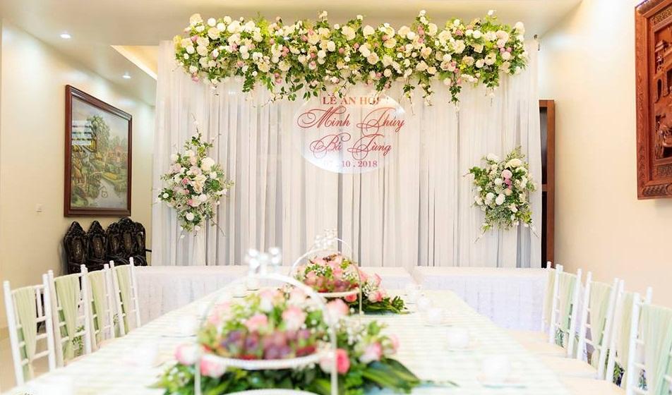 Cách làm phông cưới đẹp