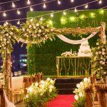 #1 Sân khấu đám cưới đẹp nhất tại nhà