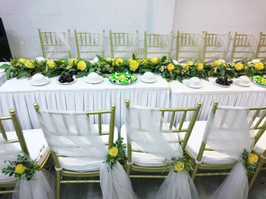Thuê bàn ghế Hà Nội