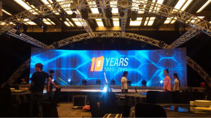 backdrop 3 D