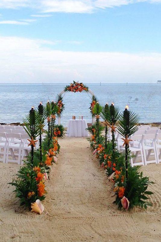 cổng đám cưới bằng lá dừa