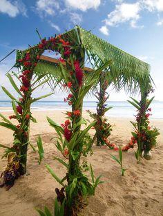 cổng cưới lá dừa