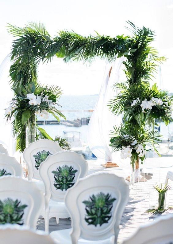 Địa chỉ trang trí cổng cưới lá dừa đẹp nhất