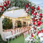 #1 Cổng hoa cưới lụa đẹp mới nhất 2020