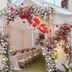 Cổng cưới hoa