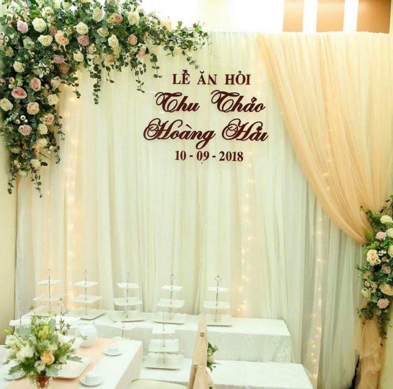 phông cưới đẹp