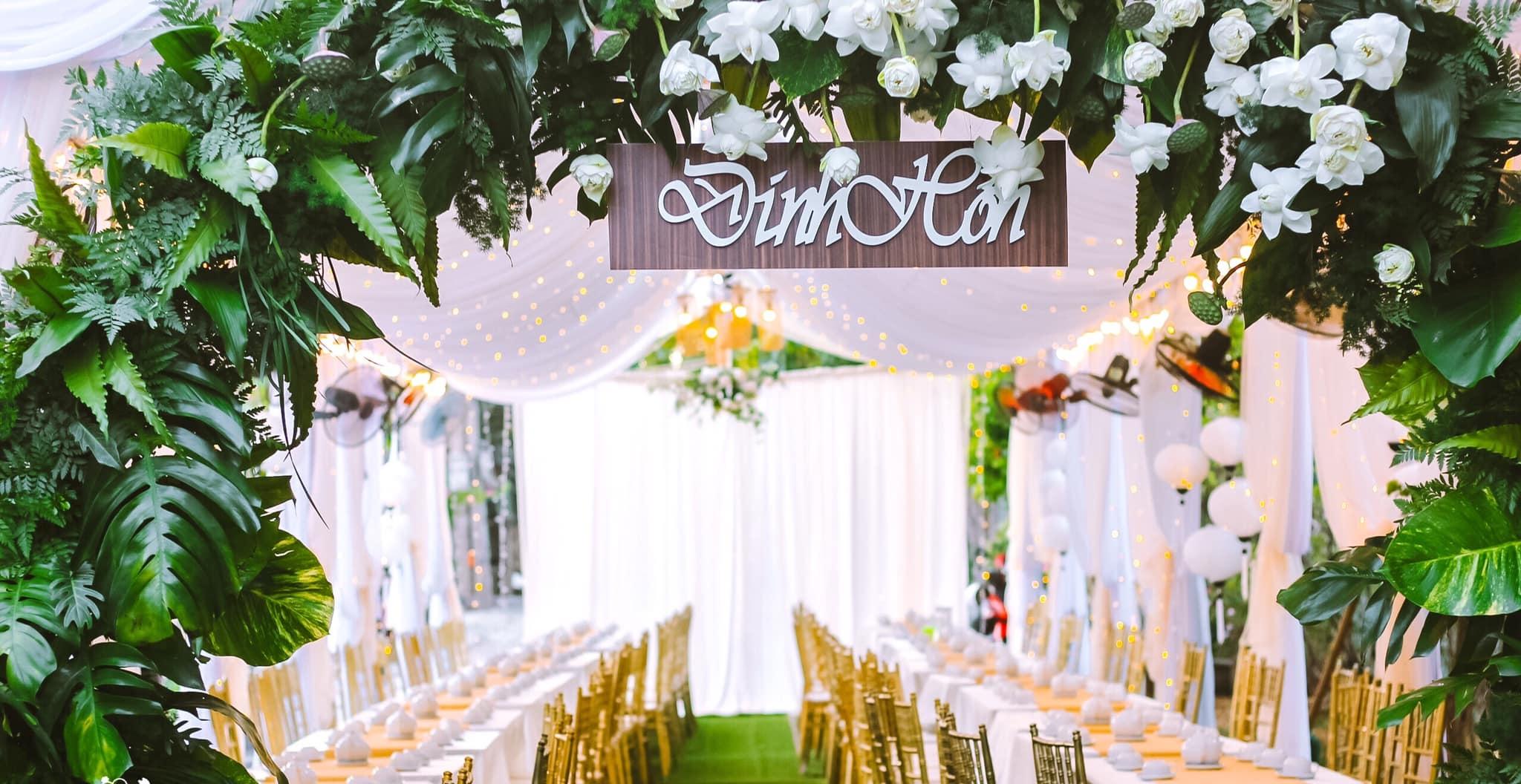 Mẫu rạp cưới mới nhất 2020