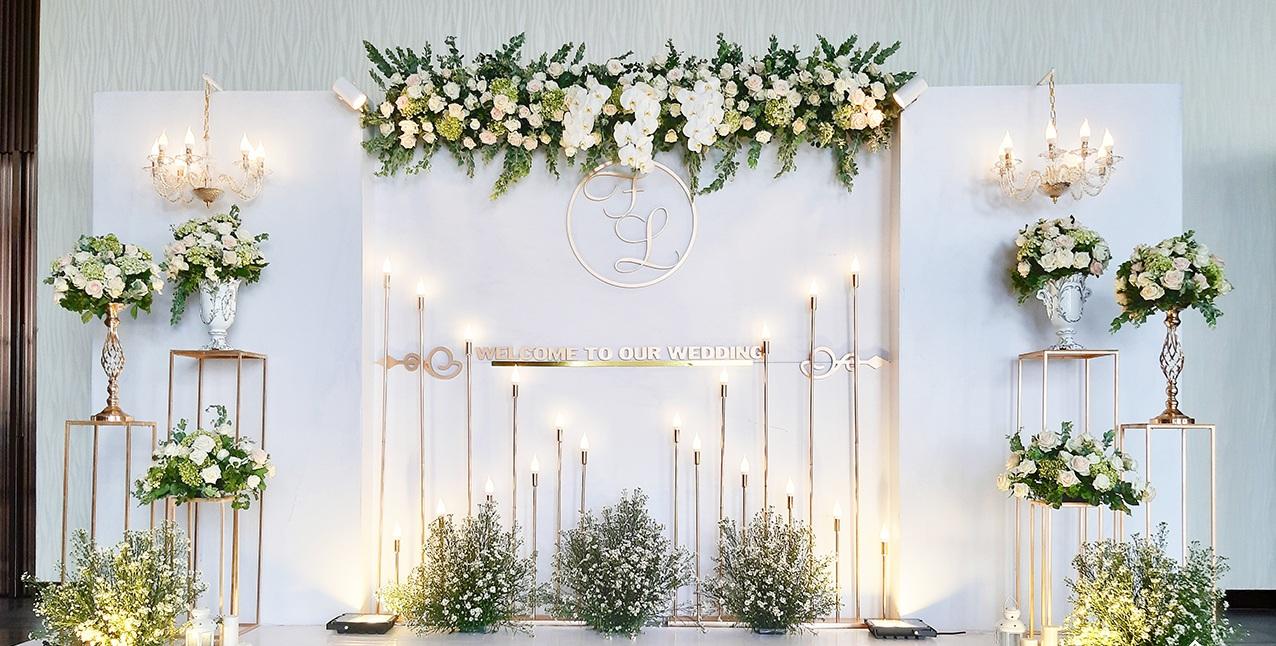 chi phí trang trí đám cưới là bao nhiêu?