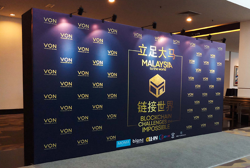 Việt Hà event thiết kế backdrop đẹp-hiện đại