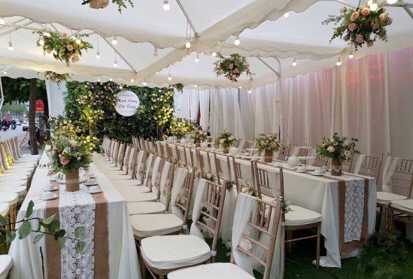 dịch vụ tiệc cưới tại nhà
