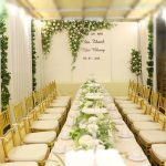 #1 Trang trí đám cưới trong nhà đẹp ngất ngây