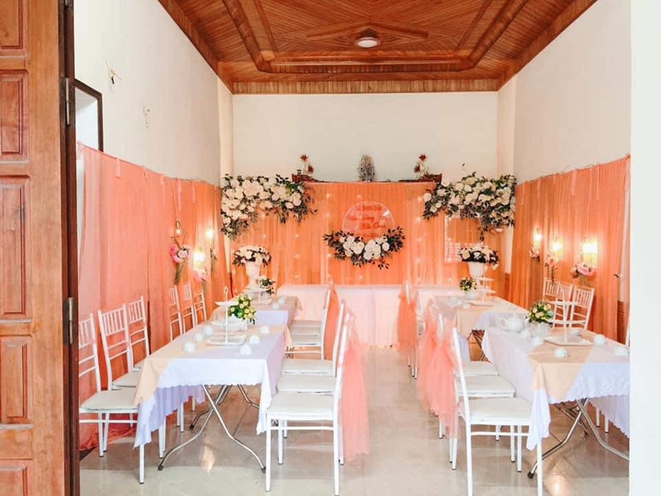 đơn vị trang trí đám cưới tại nhà