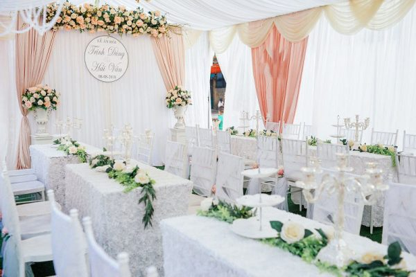 trang trí tiệc cưới Hà Nội