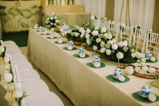 Trang trí bàn ghế cưới đẹp