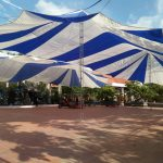 Cho thuê ô dù sự kiện nhà dù dù tròn giá rẻ tại Hà Nội