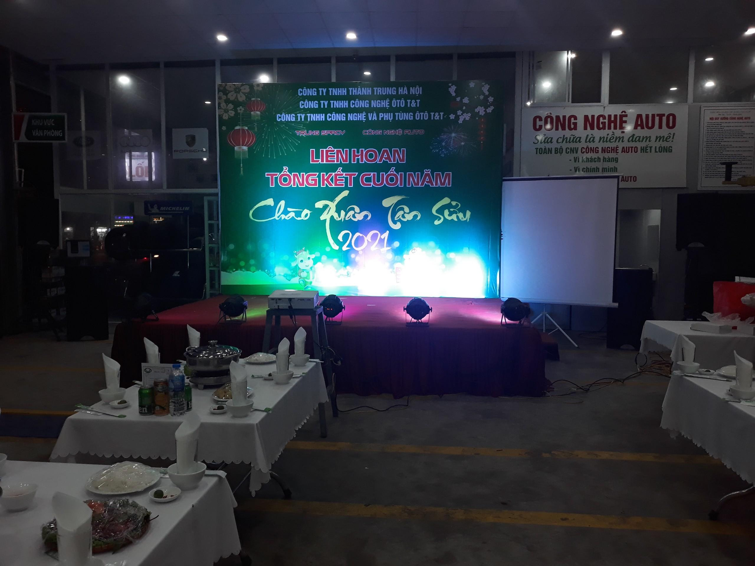 Thuê âm thanh ánh sáng tại Hà Nội