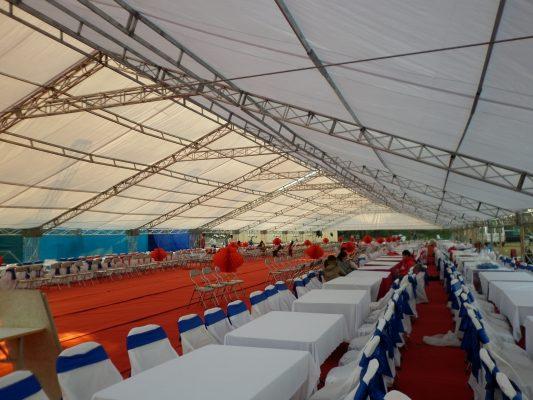 Việt Hà event cho thuê nhà bạt, bàn ghế, âm thanh ánh sáng, phông cổng