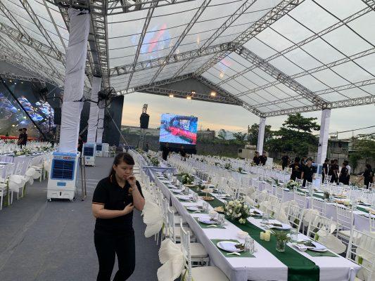 Các loại nhà bạt sự kiện cho thuê tại Việt Hà event